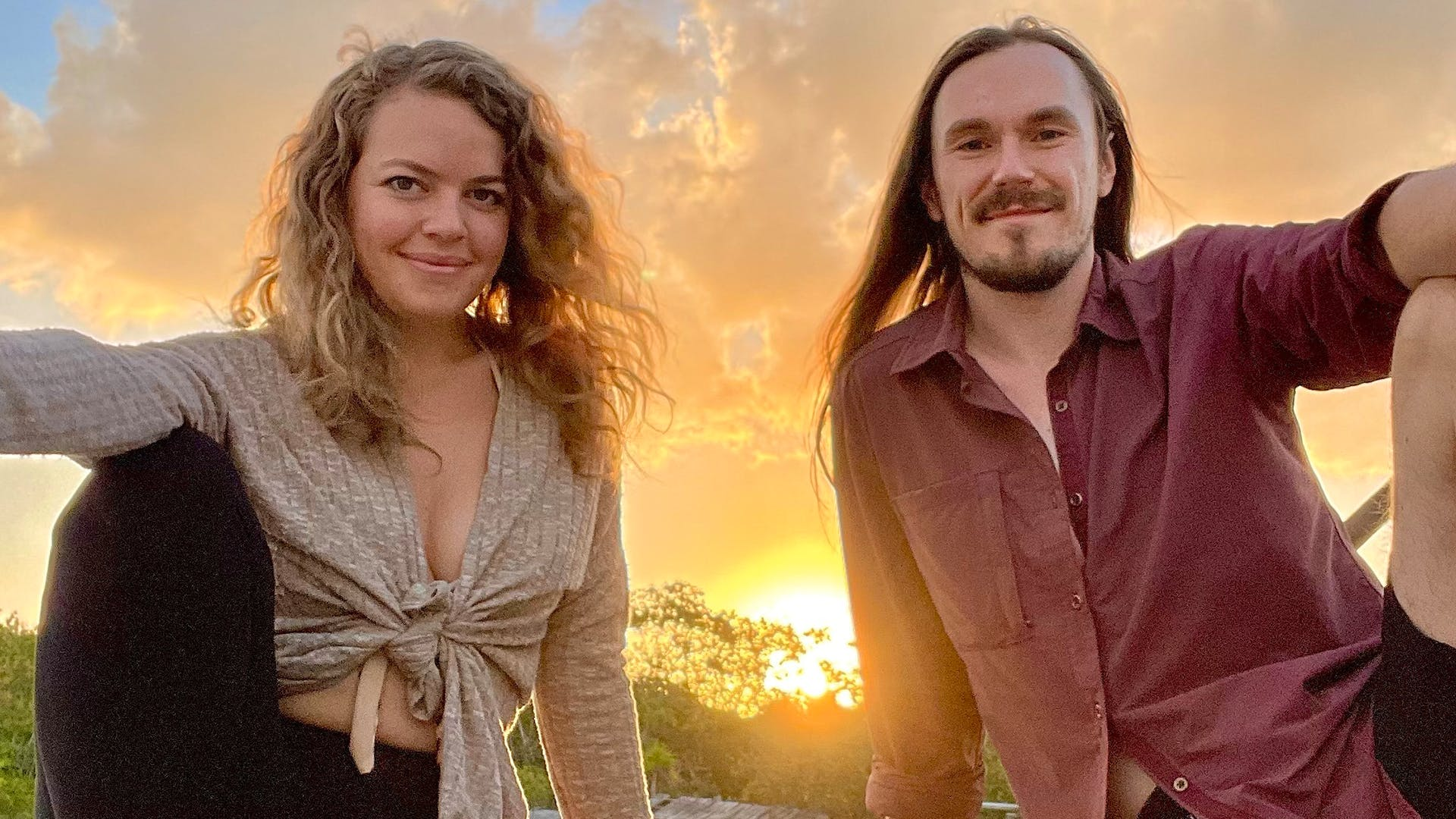 Andy Babb and Lara Elle